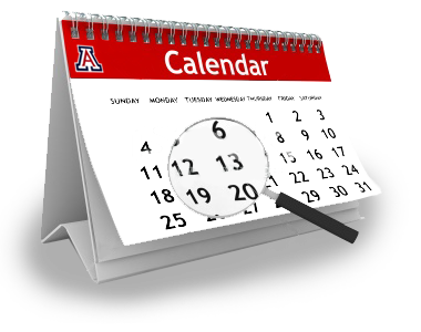 Dates calendar gives a University-wide overview of University Holidays ...